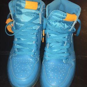 a30aa74379f64e Nike Shoes - Air Jordan 1 Gatorade Cool Blue  Blue Lagoon